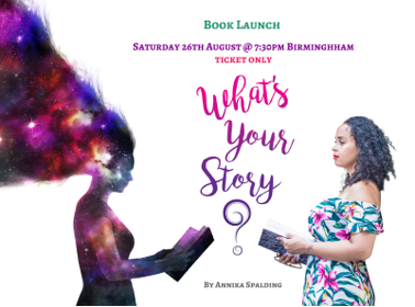 Annika Spalding - What's Your Story Book