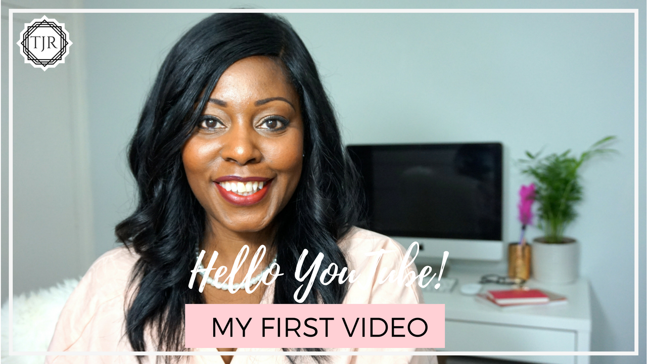 My First Video on YouTube | Tracy J Reid