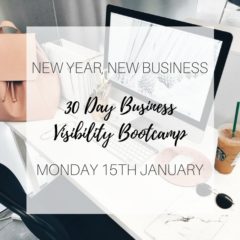 30 Day Business Visibility Bootcamp